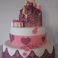 Kakkupitsiä, cake lace
