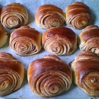 Korvapuustit, Finnish cinnamon buns