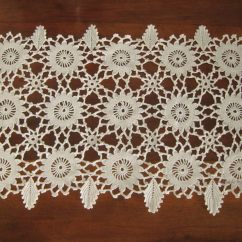 Rectangular doily