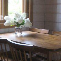 Renewing an old table, vanhan pöydän muodonmuutos