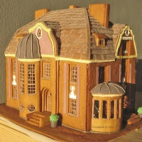 Gingerbread house, piparkakkutalo