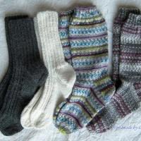 Woollen socks, villasukkia