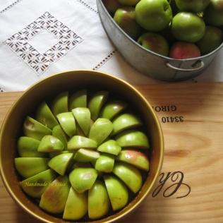 Omenalohkot päällä