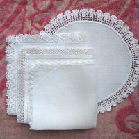 Old handkerchief lace, vanhaa nenäliinapitsiä
