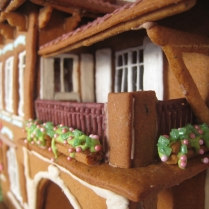 Gingerbread balcony