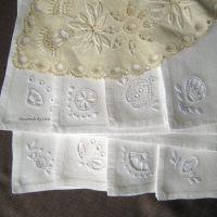 Hedebo embroidery/kirjontaa