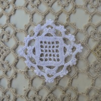 Crocheted squares, virkattuja neliöitä