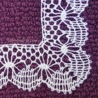 Bobbin lace practice, nypläysharjoituksia